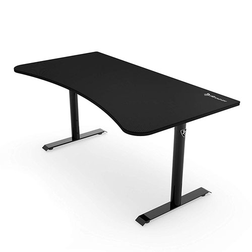 AROZZI Arena-NA-Pure-Black Gaming Desk