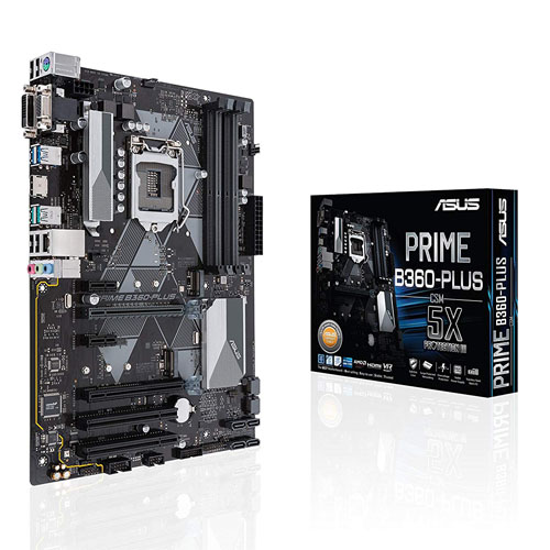 ASUS Motherboard Prime B360-Plus (Intel LGA1151)