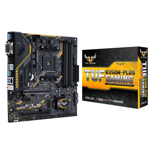 Asus Motherboard TUF B350M-PLUS Gaming (AMD Ryzen
