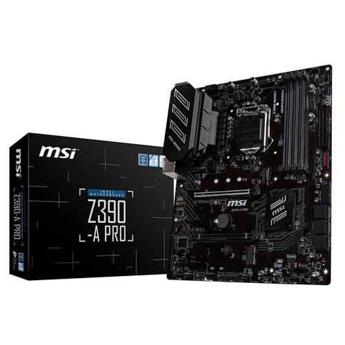 MSI Motherboard Z390-A PRO (Intel LGA1151)